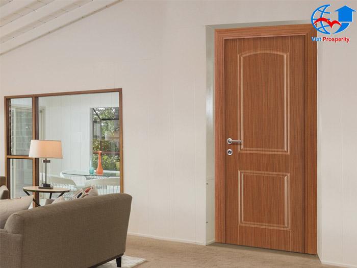 cửa thép vân gỗ việt hưng