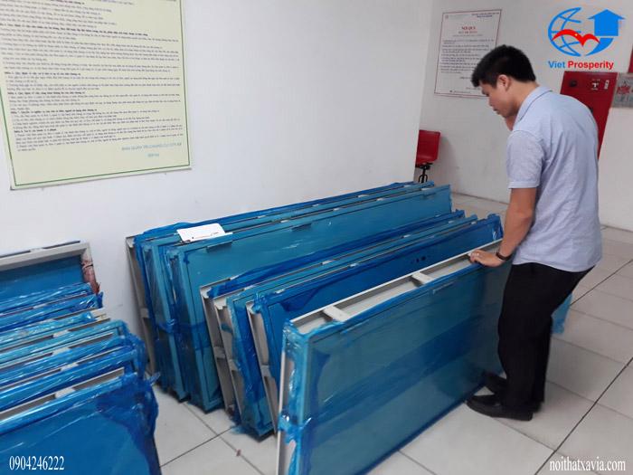 Hình ảnh cửa thép chống cháy cho tất cả các công trình của Việt Hưng 2